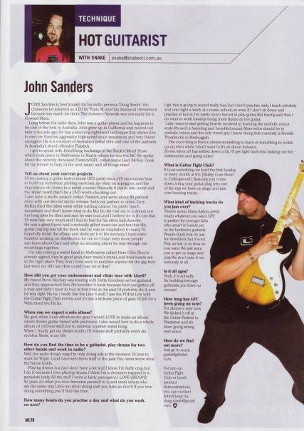 guitar article
